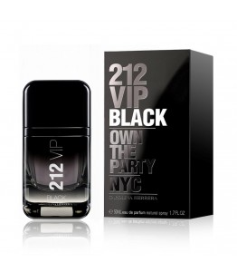 Carolina Herrera 212 Vip Black Erkek Edp 50Ml